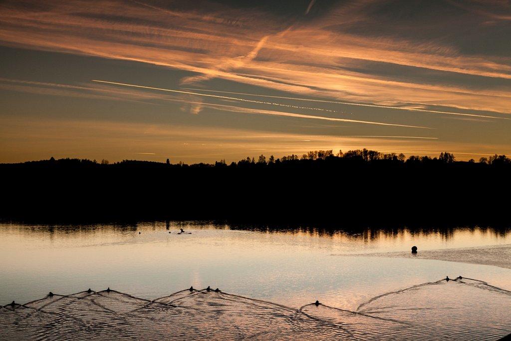 Sonnenaufgang am U-See