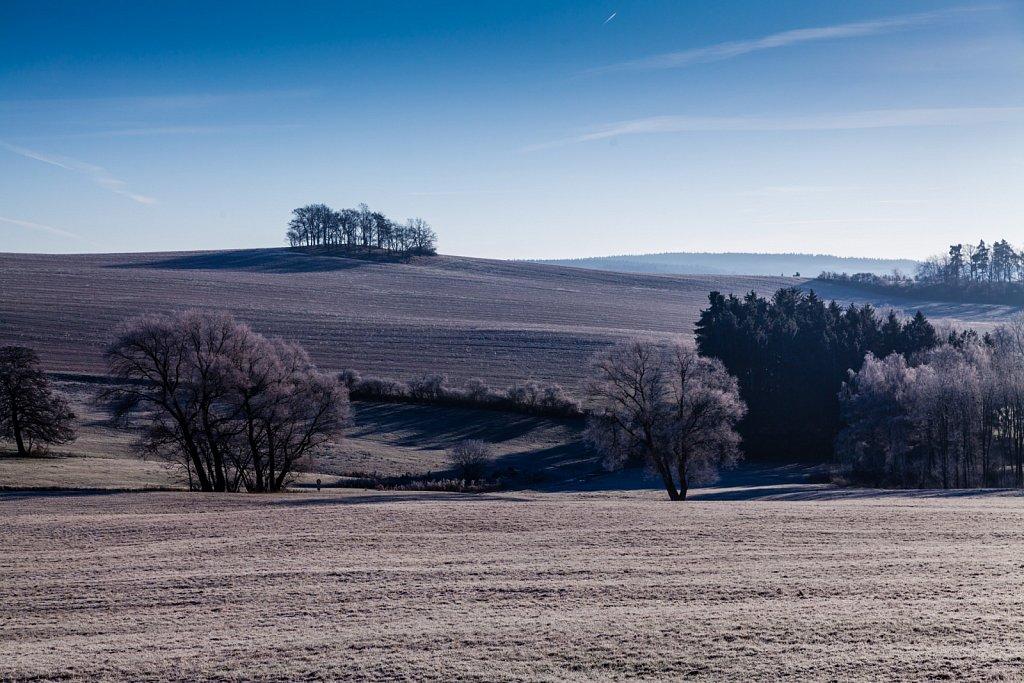 Winterlandschaft am Morgen